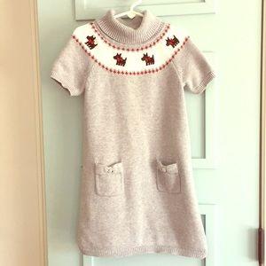 Gymboree girls sweater dress size 6